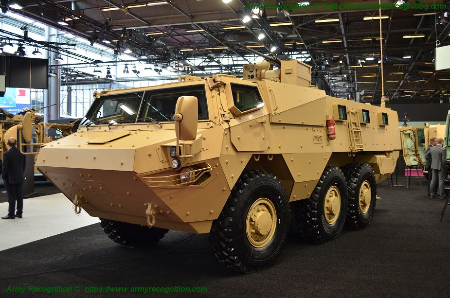 Eurosatory 2018 Arquus presents VAB MK3 next generation of 6x6 armored 925 001