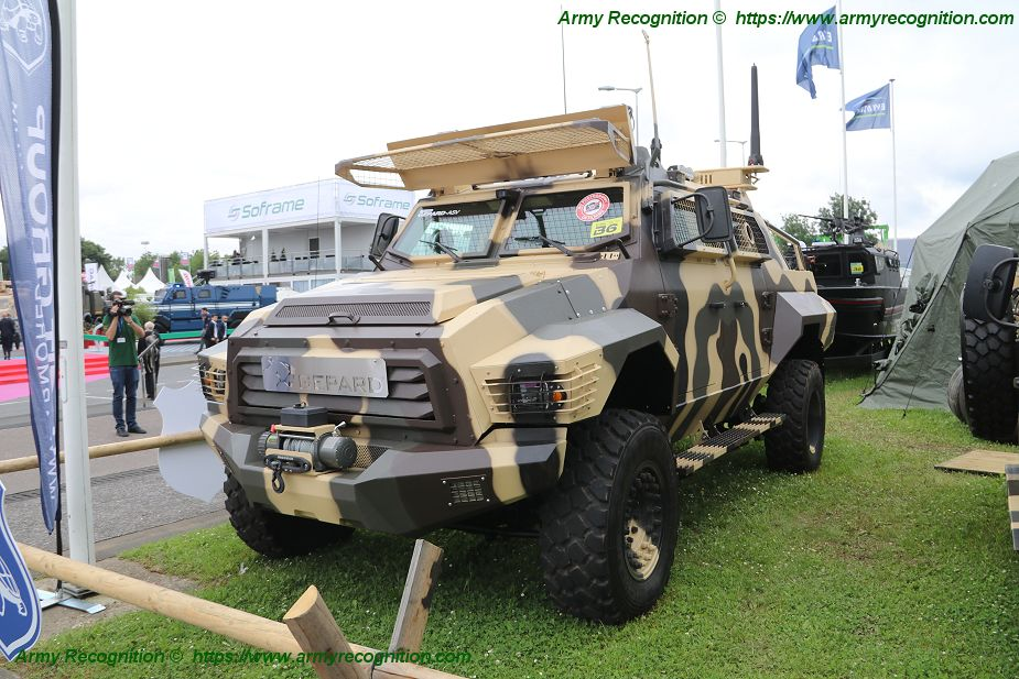 Eurosatory 2018 Streit Group Gepard ASV 4x4 Armored Security Vehicle 925 001