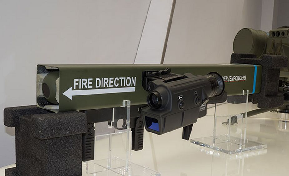 MBDA continues development of Enforcer shoulder launched guided weapon system 925 001