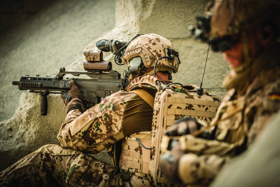 Rheinmetall leading supplier of soldier systems and expert partner for network enabled operations