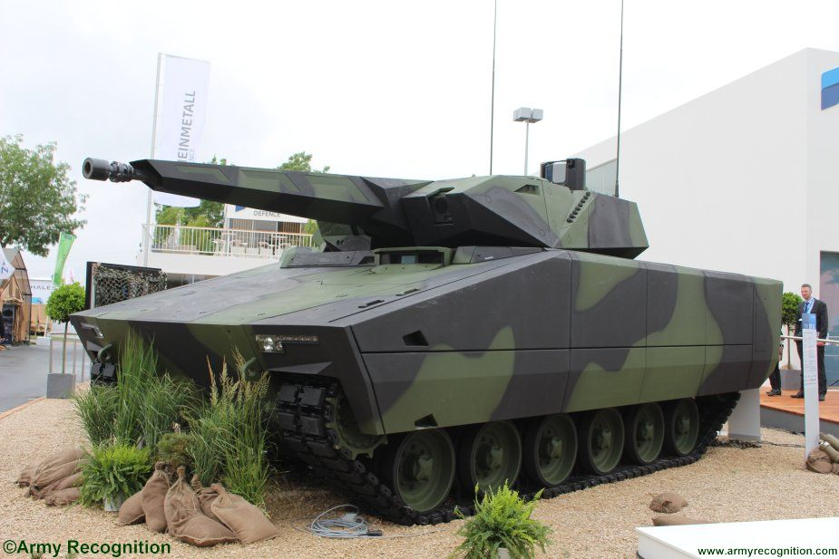 Rheinmetall s Lynx K41 IFV officially launched t Eurosatory 201 001