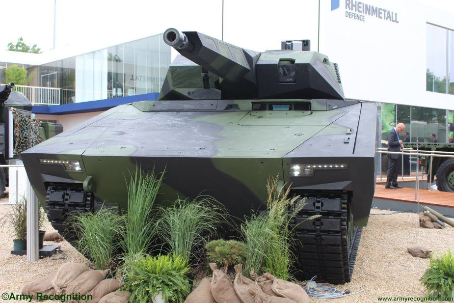 Rheinmetall s Lynx K41 IFV officially launched t Eurosatory 201 002