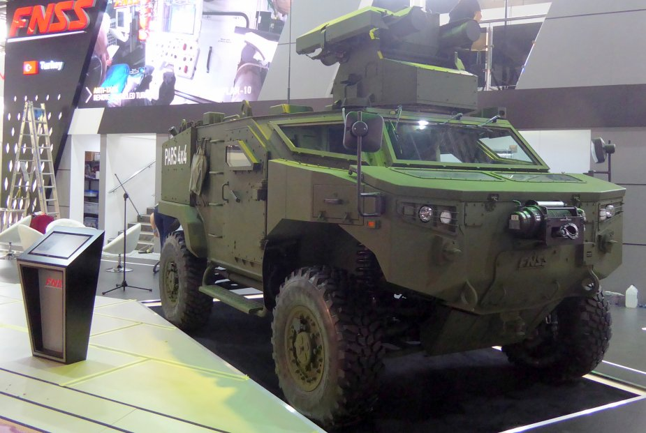 Turkey arms newest armored vehicles with Kornet E ATGM