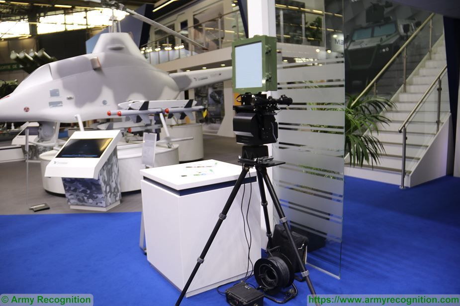 Yugoimport from Serbia presents PR 15 ground radar Eurosatory 2018 925 001