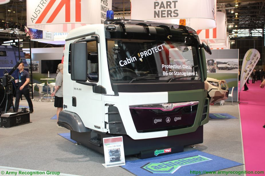 achleitner protect armored cab eurosatory 2018