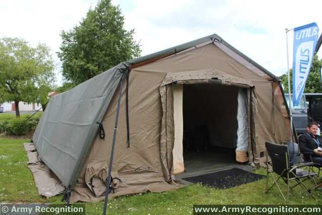 Tactical Shelter Systems : Utilis tm a military tactical soft wall shelter ready