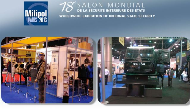 Milipol Paris 2013 pictures photos images video Worldwide International exhibition of internal State security