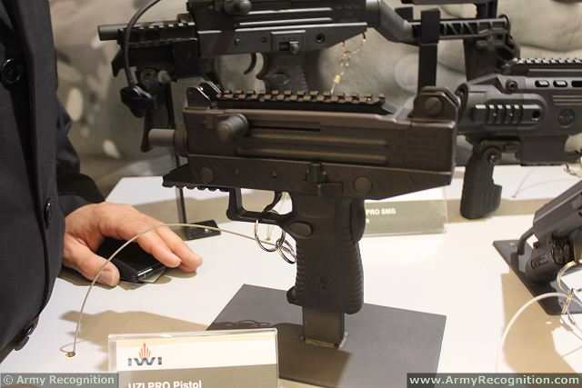 Israel Weapon Industries (IWI) - a leader in the production of combat-proven small arms for governments, armies, and law enforcement agencies around the world - launches the UZI PRO 9mm Pistol at Milipol 2013, the International Exhibition of Internal State Security of Paris, France.