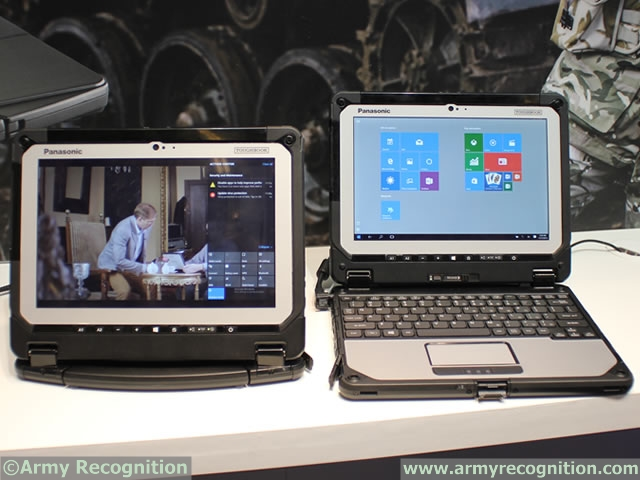 Panasonic Toughbook CF-20 Milipol 2015