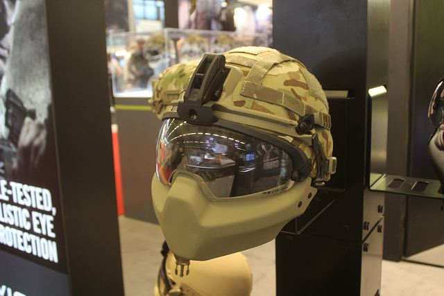 Revision from Canada offers new technology of ultra-lightweight helmet with its Cobra Plus Helmet Milipol 2015 002