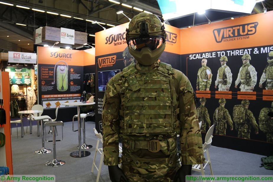 Source From Israel Presents Its Virtus Individual Soldier System