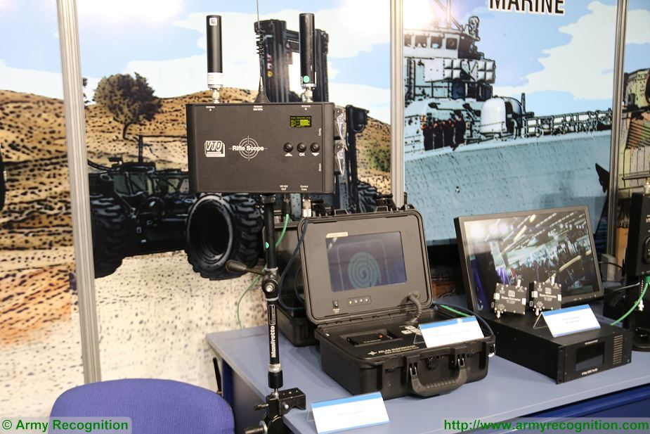 VTQ from Germany presents rifle scope with wireless video transmission at Milipol Paris 2017 France 002