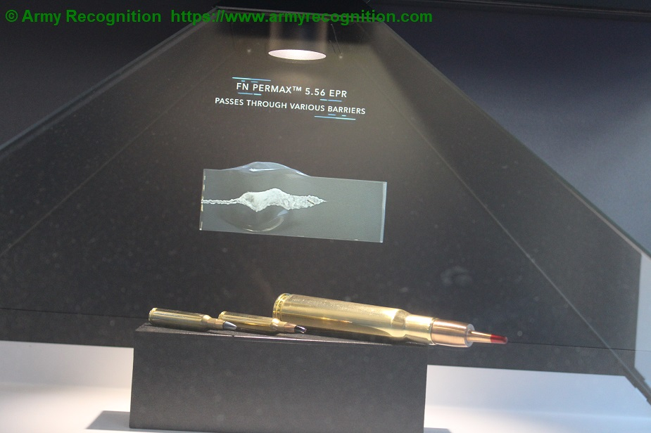 Milipol Paris 2019 FN Herstal new range of cartridges to its 5.56 and .50 calibers 01