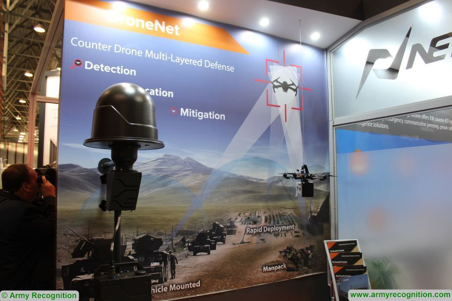 Milipol paris 2019 Netline Communications launches new parts of its DroneNet system