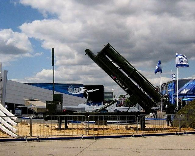 Air and missile defense systems are at the center stage of Israel's aerospace and defense display at the 49th Paris Air Show. Following the operational success of the Iron Dome counter-rocket system, emphasis is given to active defense missile and air defense capabilities. On display are a new, mobile version of Iron Dome, and the Stunner interceptor, under development for David's Sling - Israel's next generation air and missile defense system.