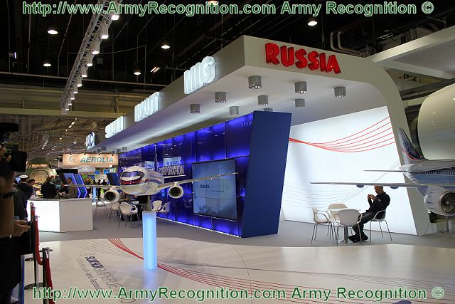 Exhibition Stand Russia : Russian russia civil and defence aviation air industry at