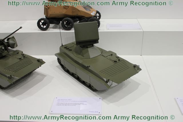 At Paris Air Show 2011, Thales presents a scale model of the SHIKRA-60 short range radar mounted on BMP chassis russian made tracked armoured vehicle. The SHIKRA RIS (Radar Identification Station) ,significantly improves target detection. It is a protection against the most aggressive air threats. It stands apart from rival products due to its multiple search and track capabilities and its technical performances.