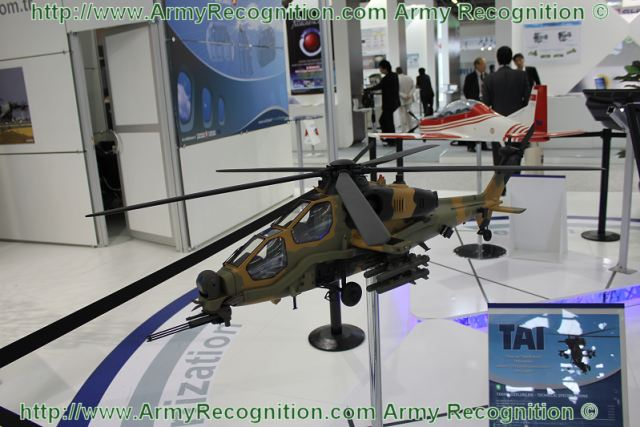 At Paris Air Show 2011, the Turkish Aerospace Industries (TAI) present a new combat helicopter, the T129. The TAI/AgustaWestland T-129 (AgustaWestland designation AW729) is an attack helicopter currently under development for the Turkish Army.