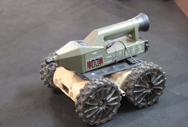 Nexter Robotics showcased last generation of missions kits for NERVA robots at SOFINS 2015 640 004