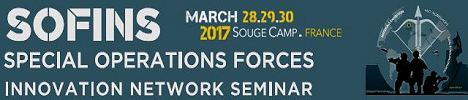 SOFINS 2017 news coverage report show daily pictures video Special Operations Forces Innovation Network Seminar Exhibition Camp Souge Military Base France