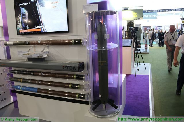 French Company TDA a Thales subsidiary presents 120 mm guided mortar ammunition at SOFINS 2017 640 001