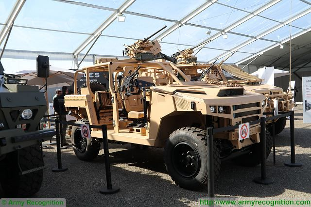 Prototype of VLFS Light Vehicle Special Forces unveiled by Renault Trucks Defense at SOFINS 2017 640 001