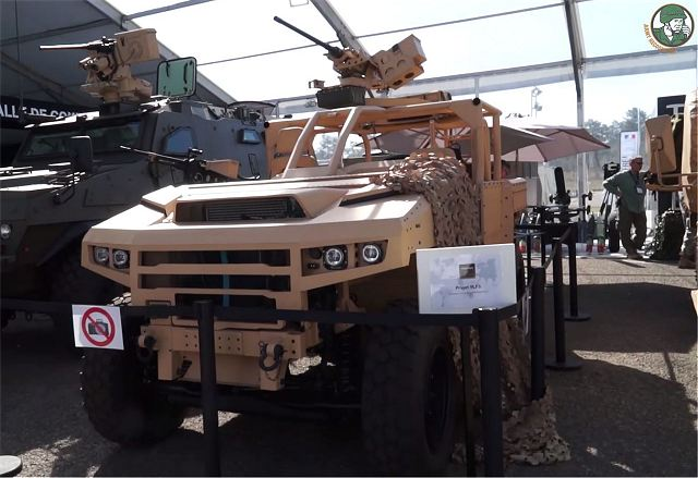 Prototype of VLFS Light Vehicle Special Forces unveiled by Renault Trucks Defense at SOFINS 2017 640 003