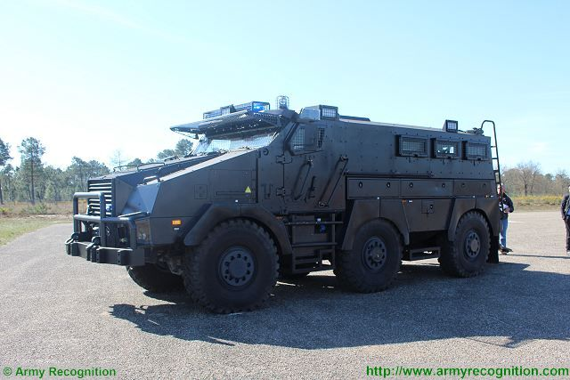 TITU 6x6 law enforcement vehicle SOFINS 2017 Special Operations Forces Innovation Network Seminar 640 001