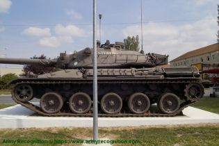 AMX 30 MBT main battle tank France French army defense industry left side view 002