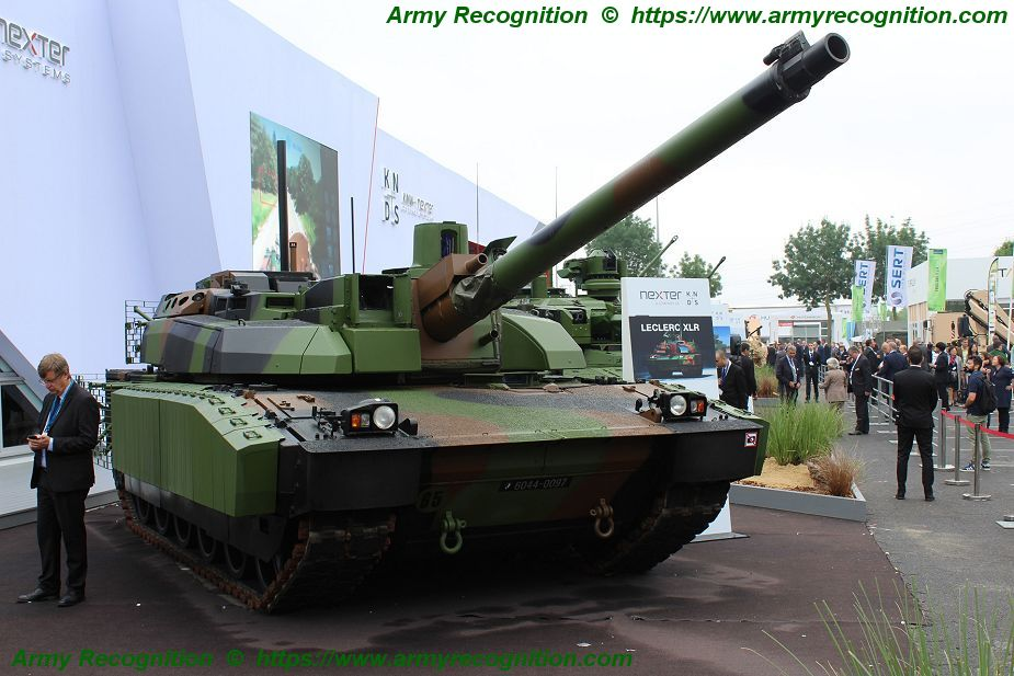 Leclerc XLR Scorpion MBT main battle tank France French Army Nexter Systems 925 001
