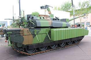 Leclerc XLR Scorpion MBT main battle tank France French Army Nexter Systems right side view 001