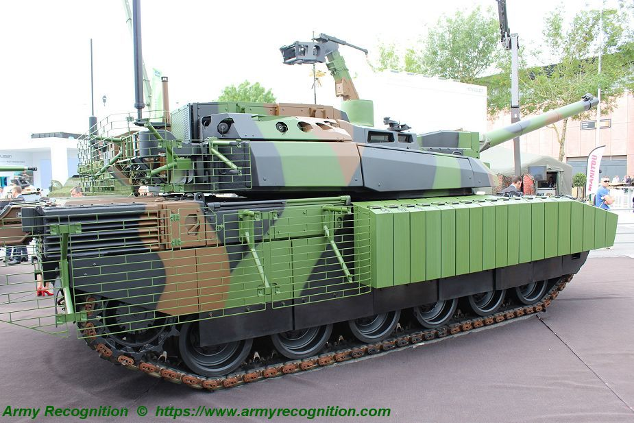 Leclerc XLR Scorpion MBT main battle tank France French Army Nexter Systems 008