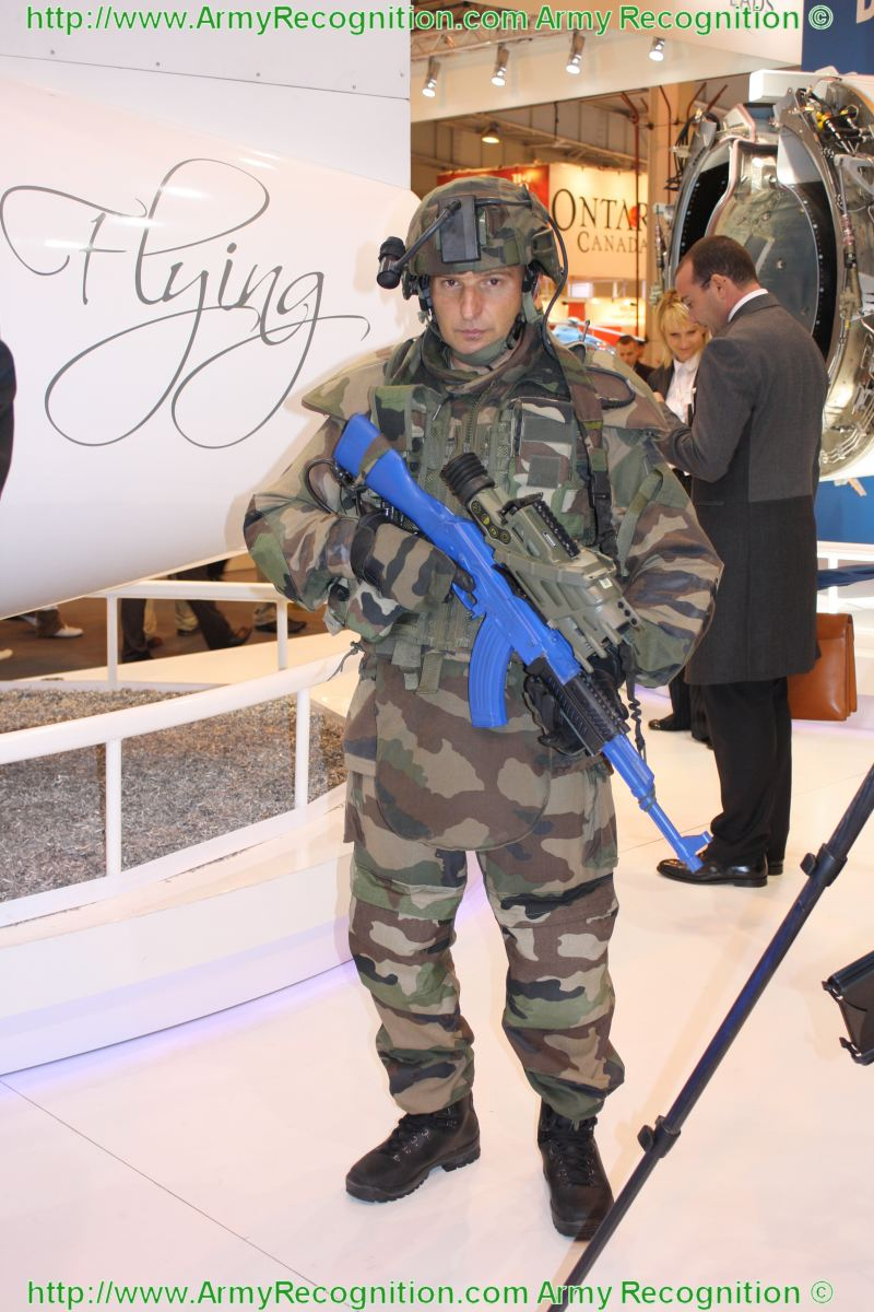 Afaik felin is portable technology and not a famas the russians