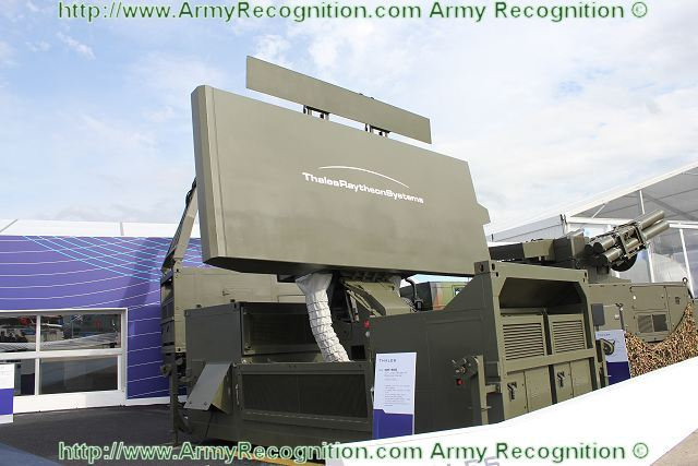 The Ground Master (GM) 400 is a 3-D long-range air defence radar able to detect threats from both high and low altitudes; from 5 to 470 km. Its specific design (S Band, 6s rotation, Full Digital, Stacked Beam, Adaptive Doppler modes) brings a unique capability to track highly manoeuvrable low flying targets with a small Radar Cross Section while providing an excellent global air picture.