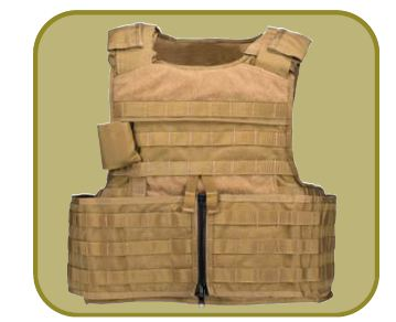MSA Gallet RAV releasable assault vest technical data sheet specifications description information France French Defense Company Industry