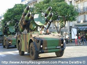 Crotale low altitude ground to air missile system technical data sheet specifications information description intelligence identification pictures photos images video France French Defence Industry