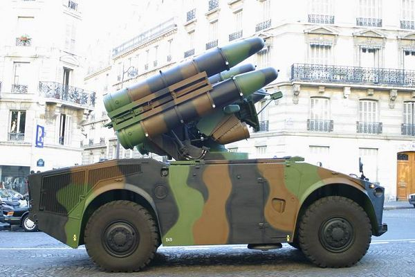 Crotale Low Altitude Ground To Air Missile System