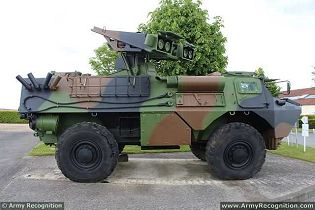 Vab Hot Mephisto Anti Tank Missile Launcher 4x4 Armored