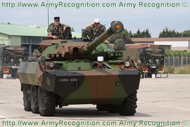 Amx 10rcr Upgraded Reconnaissance Anti Tank 6x6 Armoured