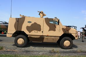 Aravis Nexter high protected wheeled armoured vehicle Systems  technical data sheet information description intelligence identification pictures photos images France French Army