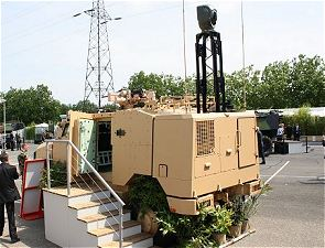 Aravis observation detection surveillance battlefield armoured vehicle technical data sheet specifications description information intelligence identification France French Nexter