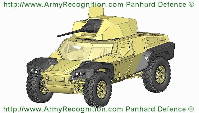 Crab Panhard Combat Reconnaissance Armored Buggy French