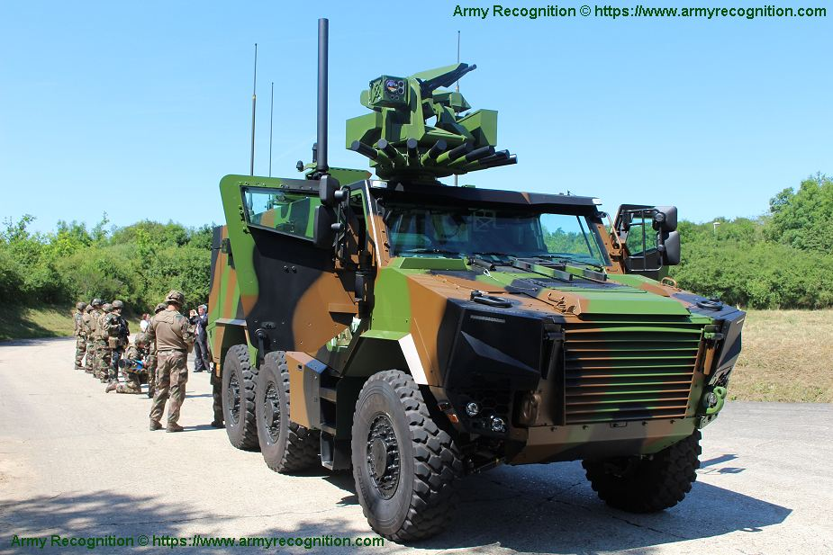 Griffon EBMR 6x6 Armoured Multi roles vehicle France French army defense industry military equipment 925 001