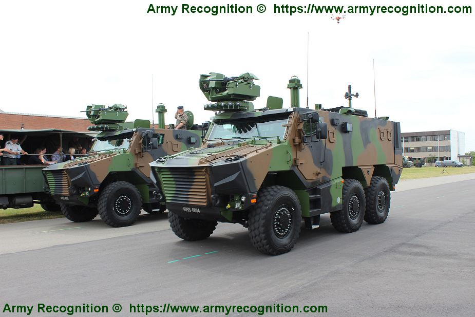 Griffon EBMR 6x6 Armoured Multi roles vehicle France French army defense industry military equipment 925 002