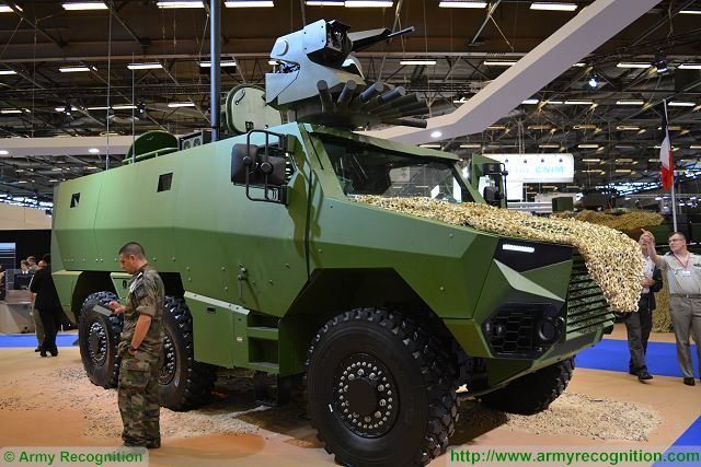 Griffon VBMR 6x6 Armoured Multi-role vehicle France French army defense industry military equipment 640 003