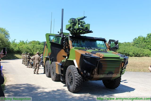 Griffon VBMR 6x6 Armoured Multi role vehicle France French army defense industry military equipment 640 004