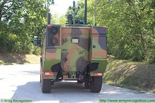 Griffon VBMR 6x6 Armoured Multi role vehicle France French army defense industry military equipment rear view 003