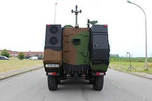 Griffon VBMR 6x6 Armoured Multi role vehicle France French army defense industry military equipment rear view 004
