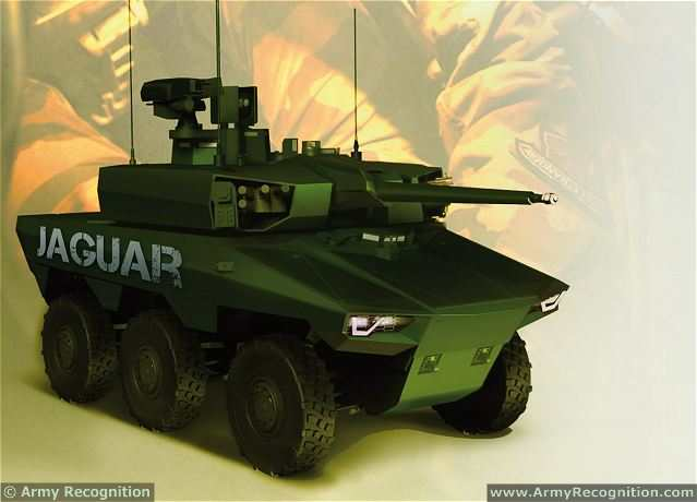 French Defence Minister Unveils Future Griffon And Jaguar