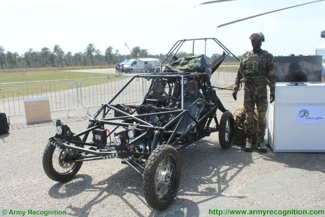 Pegase flying cross-country vehicle Vaylon Special Forces France French defense industry 640 001
